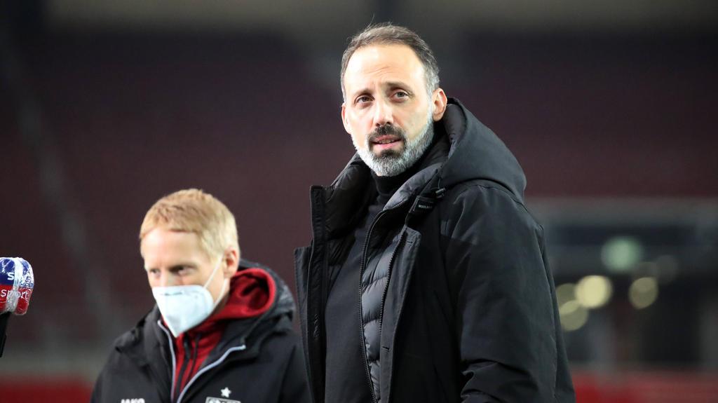 Pellegrino Matarazzo vom VfB Stuttgart hält Arminia Bielefeld für einen