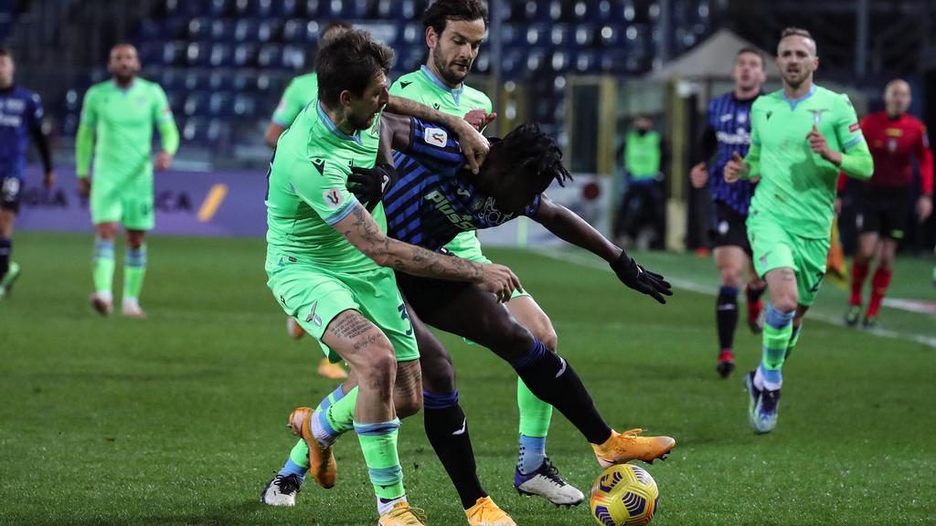 Zapata (mi.) und Bergamo setzten sich gegen Lazio durch
