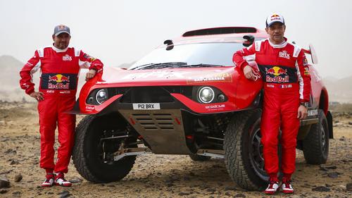 Sébastien Loeb (r.) trennt sich von Daniel Elena (l.)