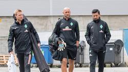 Mario Baric (r.) verlässt Werder Bremen wohl in Richtung BVB