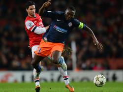 Montpellier unterliegt Arsenal