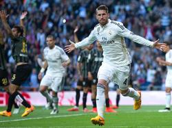 Sergio Ramos wurde zum besten Verteidiger der spanischen Liga gekürt