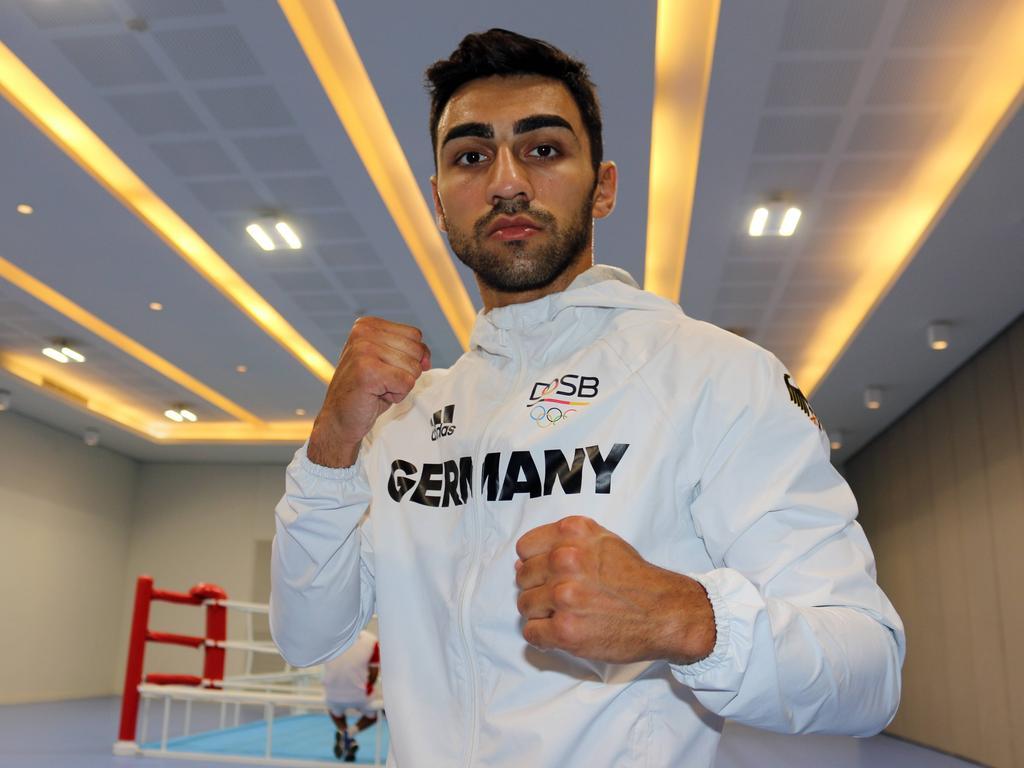 Harutiunian Holt Ersten Deutschen Box Sieg