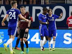 Oscar glänzt mit einem Doppelpack gegen Milan