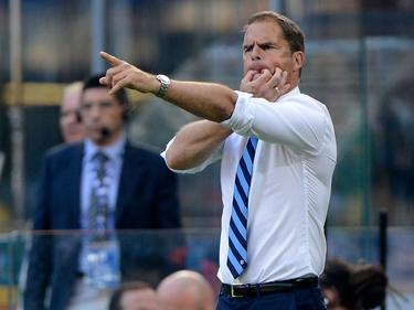 El Inter de Frank de Boer está tercero con 11 puntos en el Calcio. (Foto: Imago)