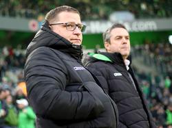 Mit der Borussia in der Krise: Sportdirektor Max Eberl