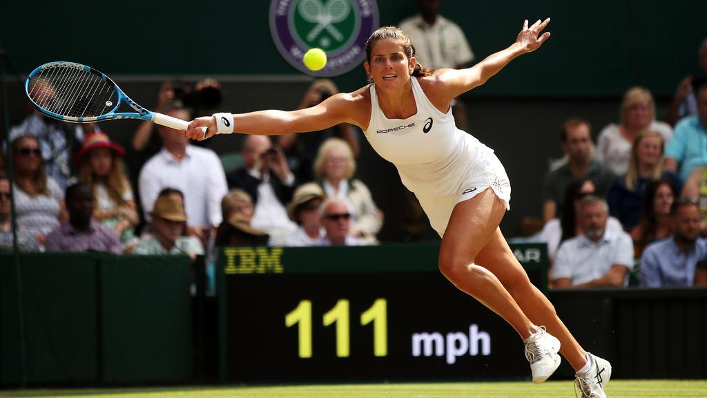Julia Görges musste sich Serena Williams geschlagen geben
