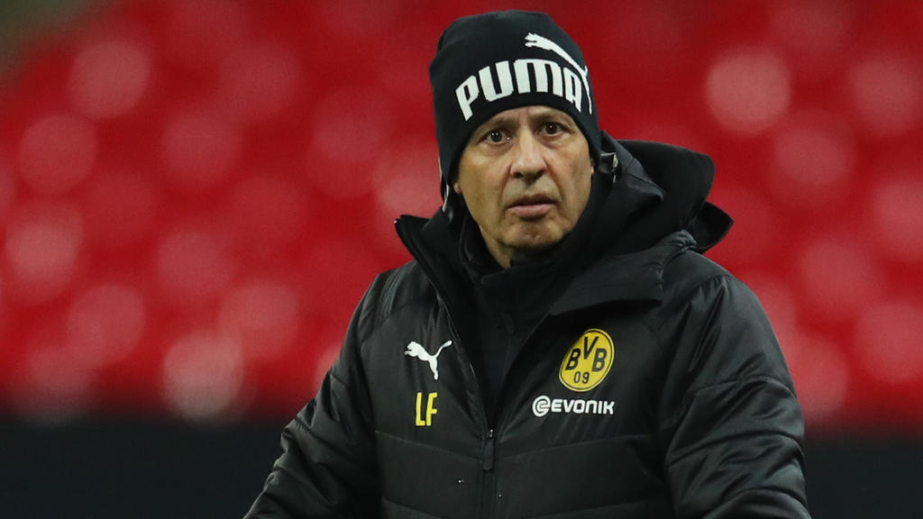 Lässt keine Ausreden gelten: BVB-Coach Lucien Favre