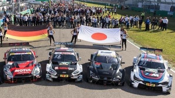 DTM- und Super GT-Boliden werden sich 2019 gemeinsam auf der Strecke messen