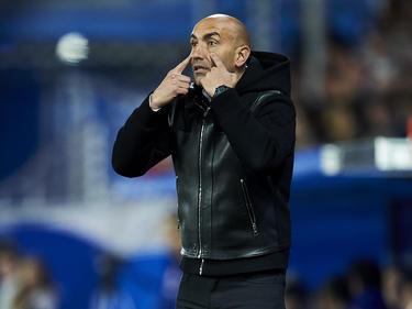 Abelardo se mide hoy al Barça en Mendizorroza. (Foto: Getty)