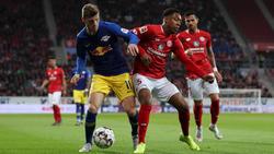 RB Leipzig und der 1. FSV Mainz 05 trennten sich unentschieden