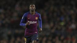 Ousmane Dembélé steht beim FC Barcelona erneut in der Kritik