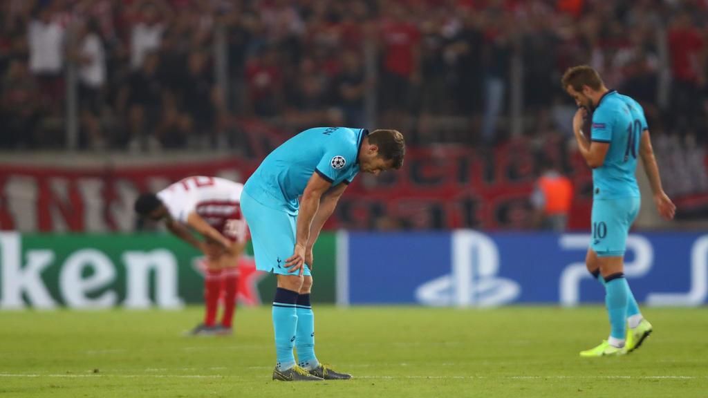 Die Bayern-Gegner Tottenham und Olympiakos trennten sich unentschieden