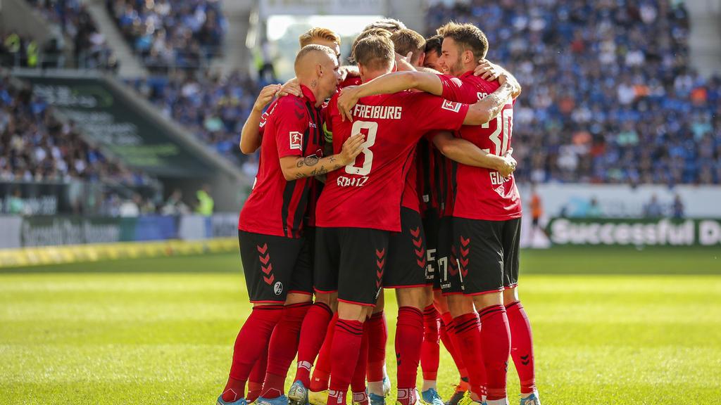 Der FC Freiburg setzte sich gegen TSG Hoffenheim durch