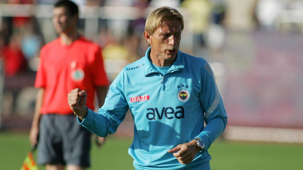 Christoph Daum trainierte Fenerbahce von 2003 bis 2006 und in der Saison 2009/10