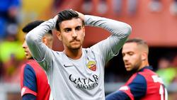 Lorenzo Pellegrini estará ausente las próximas semanas.