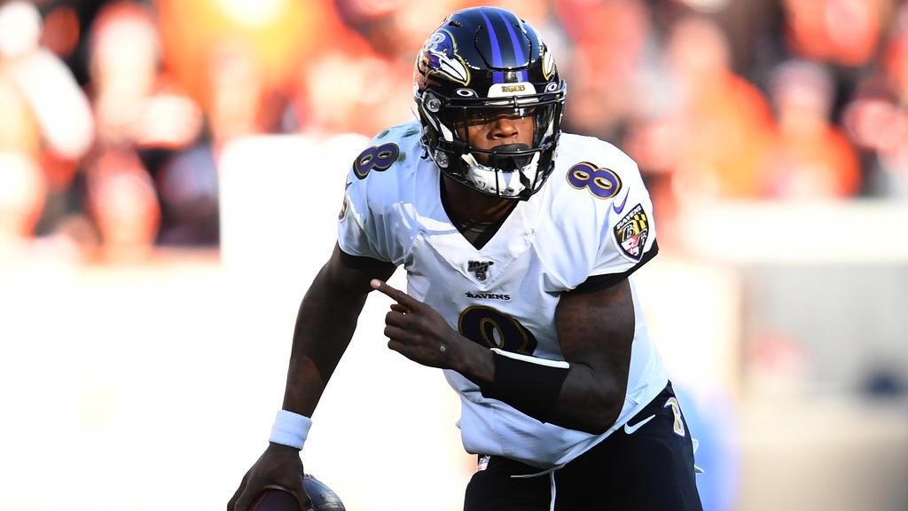 Lamar Jackson, Quarterback der Baltimore Ravens, ist ein Mann der Superlative