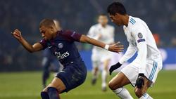 Raphael Varane (r.) verlässt Real Madrid, Kylian Mbappé soll kommen