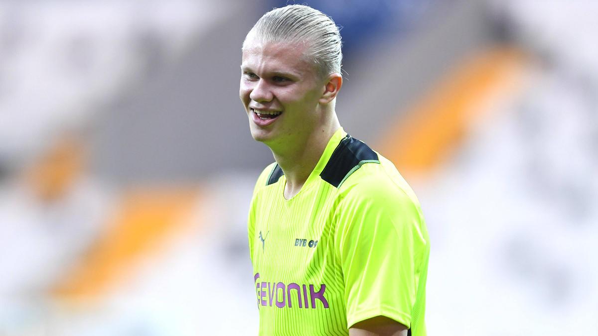 BVB-Star Erling Haaland steht offenbar auch beim FC Liverpool hoch im Kurs