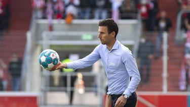 Der Karlsruher SC setzt weiter auf Trainer Christian Eichner