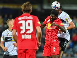 Salzburg musste gegen Altach hart kämpfen.