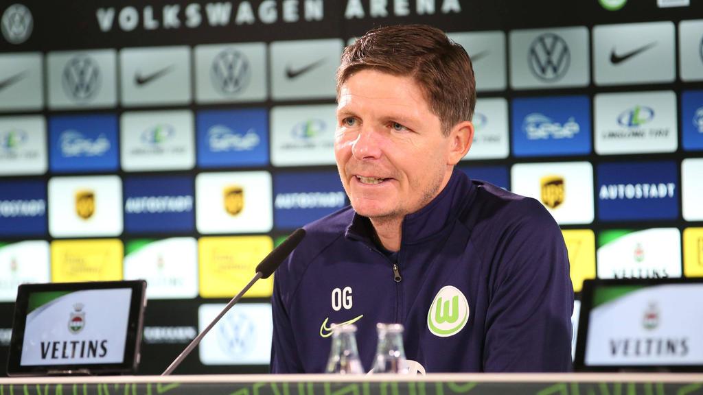 Wolfsburgs Trainer Oliver Glasner wehrt sich gegen die Kritik