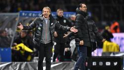 Jürgen Klinsmann (l.) und Michael Preetz fanden bei Hertha BSC nicht zusammen