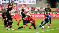 Der 1. FC Köln feierte einen späten Punktgewinn