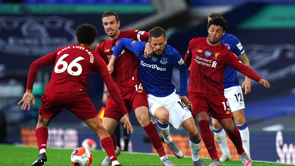 Der FC Liverpool und der FC Everton trennten sich mit einem torlosen Remis