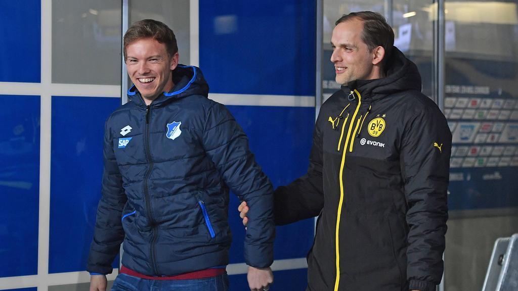 Champions League » News » Leizpig's Nagelsmann faces Tuchel reunion after besting Mourinho, Simeone