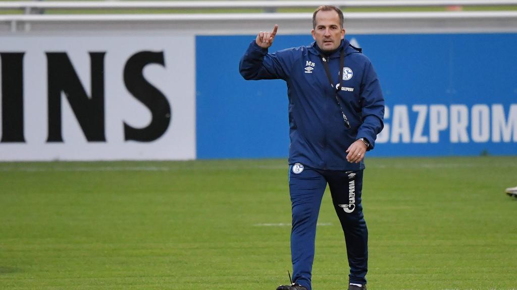 Manuel Baum hat beim FC Schalke 04 übernommen