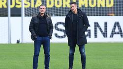 Michael Zorc (l.) und Sebastian Kehl haben über den BVB gesprochen