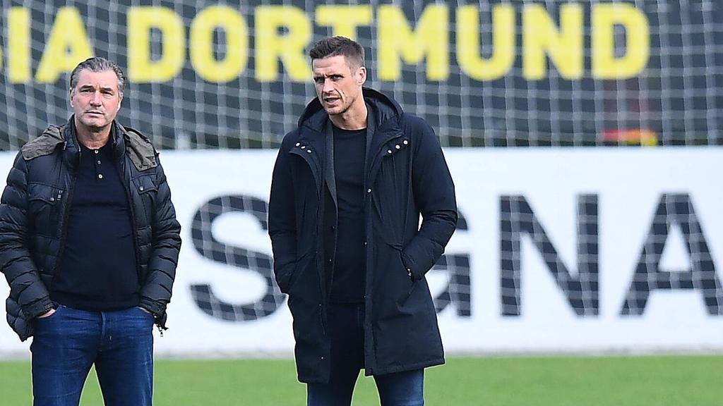 Sebastian Kehl (re.) wird beim BVB bald im Mittelpunkt stehen
