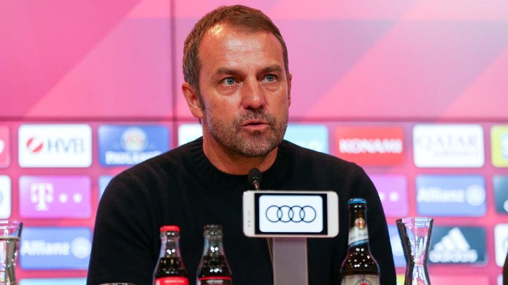 Hansi Flick und der FC Bayern treffen am Sonntag auf den SC Freiburg