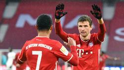 Der FC Bayern kann sich auf seine Offensive verlassen