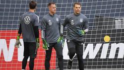 Weltklassekeeper unter sich: Marc-André ter Stegen und Manuel Neuer vom FC Bayern