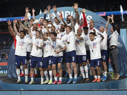 Die USA jubeln über den Sieg in der Nations League