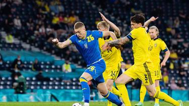 Ucrania sentenció el duelo en los minutos finales de la prórroga.