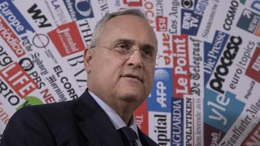 Lazio-Boss Claudio Lotito hat seine Salernitana-Anteile verkauft