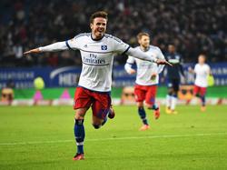 Nicolai Müller abrió el marcador en el minuto 58. (Foto: Getty)