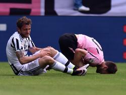 Marchisio verletzt sich