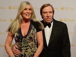 Günther Netzer mit seiner Frau Elvira
