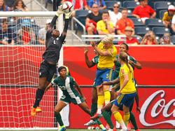 Suecia y Nigeria empataron 3-3 en un divertido partido del Mundial de Canadá. (Foto: Getty)