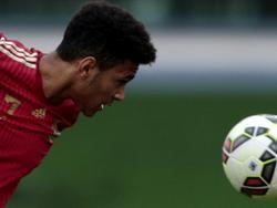 Jordi Mboula marcó el primer gol de la Sub-17 ante Holanda. (Foto: Getty)