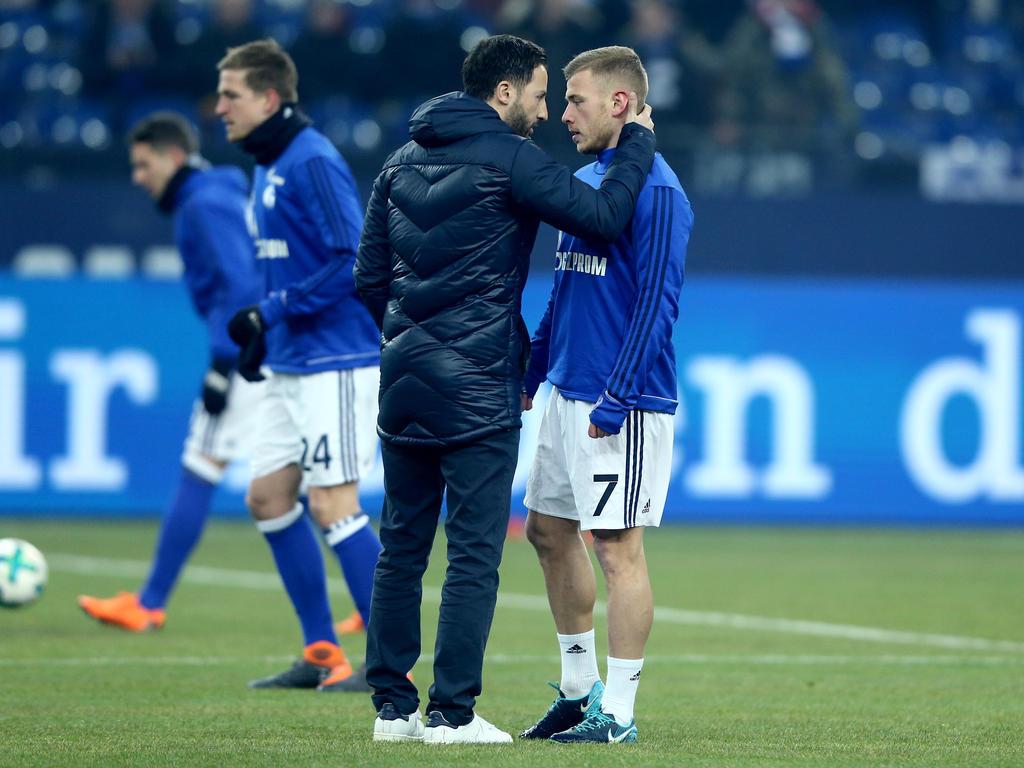 Endet die Zusammenarbeit zwischen Max Meyer und Domenico Tedesco nach dieser Saison?