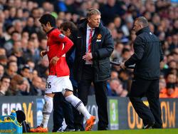 Shinji Kagawa und David Moyes kennen sich aus ihrer Zeit bei Manchester United