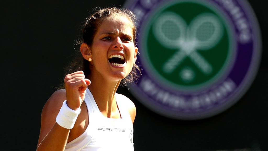 Julia Görges steht in Wimbledon unter den letzten Vier