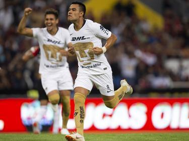 Pablo Barrera celebra su tanto contra Atlas. (Foto: Imago)