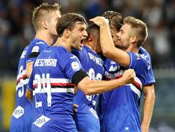 La Sampdoria pasó por encima del nuevo Nápoles. (Foto: Imago)