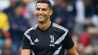 Cristiano Ronaldo zeigt auf Instagram stolz das Können seines Sohns